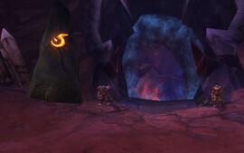 Flammenschlund Eingang