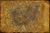 Gorge des Vents brûlants map Classic