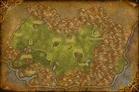 Carte Hautes-terres Arathies Cataclysm