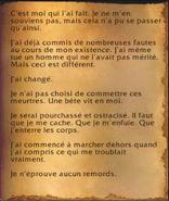 Page roussie - Les Tourments des Worgens
