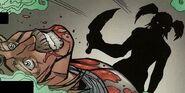 Llane assasinated by Garona (Comic)