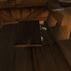 Pomyłki Neetoda są schowane na drugim piętrze zakładu fryzjerskiego. Jest to oczywiste nawiązanie do historii Sweeney'a Todda