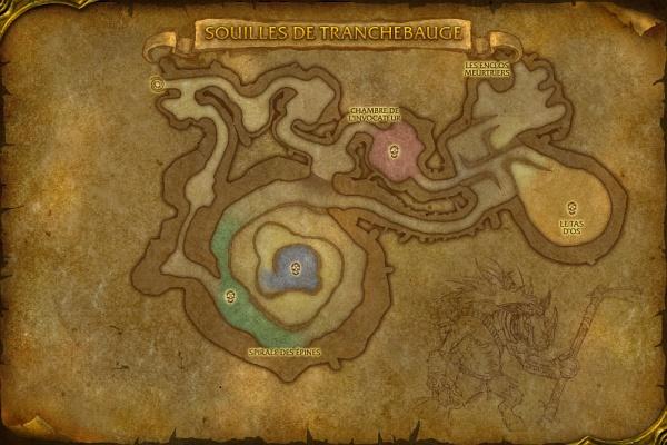 Carte des Souilles