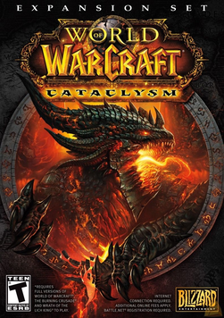 Cataclysm - официальная обложка