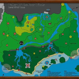 Карта долины, представленная на BlizzCon 2011.