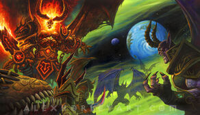 Sargeras and the Legion