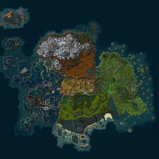 Minimapa Pandarii z wersji beta
