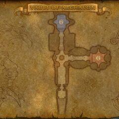 Карта подземелья в обновлении 3.1
