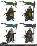 Kul Tiran Guard Set concept