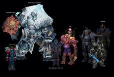 Боссы Ледяных залов