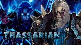 Historia extendida de Thassarian y nueva información.