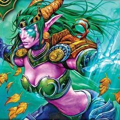 Ysera's humanoid form.