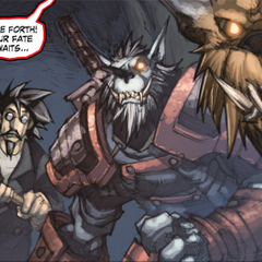 Darius Crowley sportretowany w komiksie <i><a class=