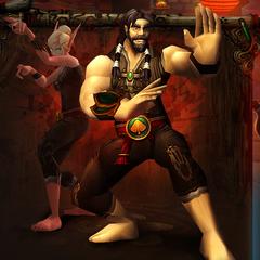 Эльф крови монах и человек монах