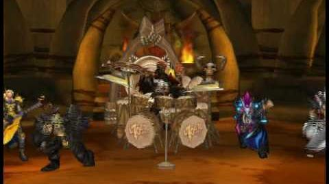 World of Warcraft Band performing in Orgrimmar