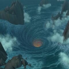 Widok na Maelstrom w wersji beta <i>Cataclysm</i>