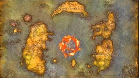 Cataclysm - Azeroth World Map Start Here