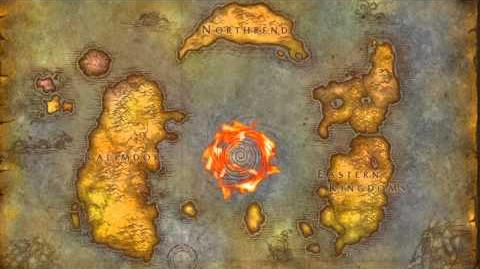 Cataclysm - Azeroth World Map Start Here