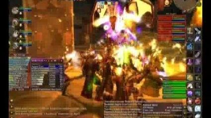 WoW Tyraenny Kill Blackwing Lair - Vaelastrasz the Corrupt