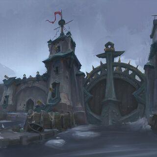 Kul Tiran port