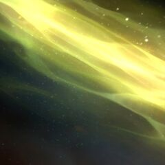 Outland exists in the Twisting Nether, an ethereal dimension of undulating green