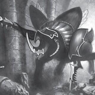 Władca krypty atakujący Baelguna w <i><a class=