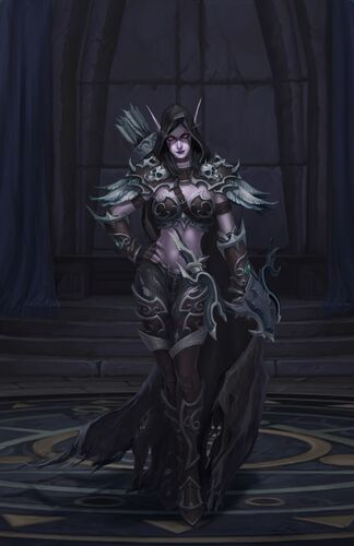 Sylvanas Coursevent Wikiwow Fandom Powered By Wikia