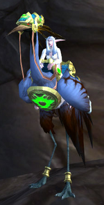 Azure Riding Crane
