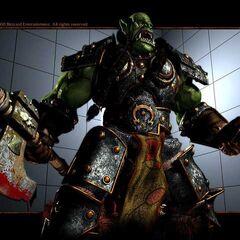 Синематик модель Тралла в Warcraft III.