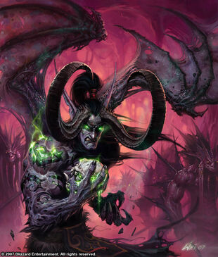 Glowei Illidan Stormrage