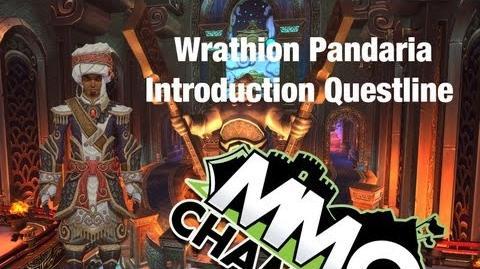 Wrathion Pandaria Introduction Questline