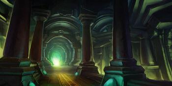 Halls of Stone loading screen 2
