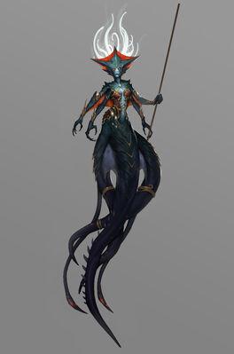 Battle for Azeroth - Azshara concept art