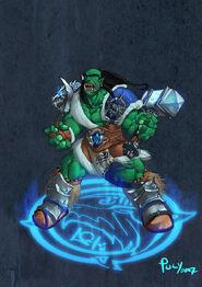 Frostwolf Chieftain Durotan by pulyx-1-