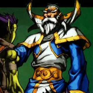 Кадгар говорит с Мед'аном WoW comic.
