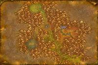 Les Serres-Rocheuses map Classic