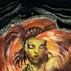 Garona w 15 zeszycie komiksu World of Warcraft