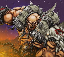 Garrosh hellscream by supremus prime-d33b9in