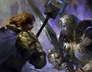 Uther vs Arthas