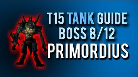 """Primordius"" TANK Guide → Boss 8 12 in Throne of Thunder"