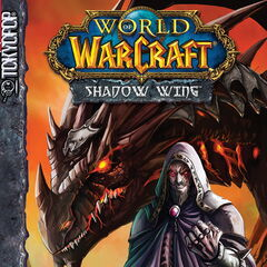 Deathwing na okładce komiksu <i>Shadow Wing</i>.