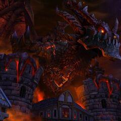 Скриншот загрузки игры Катаклизм.