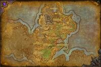 Gorgrond carte WoD
