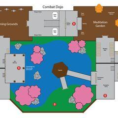Карта Монастыря Шадо-Пан