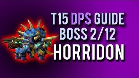 """""""Horridon"""" DPS Guide → Boss 2 12 in Throne of Thunder"""