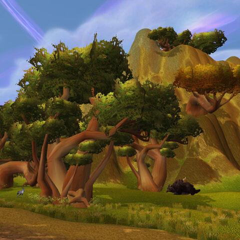 Barierowe Wzgórza, strona Nagrand