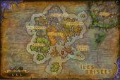 Îles Brisées carte