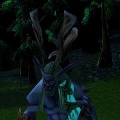 Cenarius as seen in <i>Warcraft III</i>.