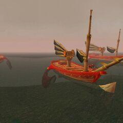 Флот у берегов Острова Кель'Данас: <a class=