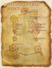 Carte du Poste de Bois-brisé (en anglais)